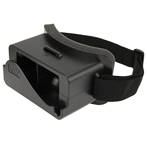60%OFF NJ-3D 1688A+ Virtual Reality 3D Video Glasses for iPhone 5 & 5S & 5C(Black)