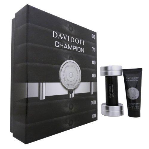 DAVIDOFF CHAMPION by Davidoff (MEN) DAVIDOFF CHAMPION-EDT SPRAY 3 OZ & HAIR AND BODY SHAMPOO 2.5 OZ ()