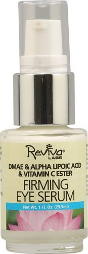 Reviva Labs Eye Care Firming Eye Serum with DMAE Alpha Lipoic Acid and Vitamin C Ester 1 oz. - 3PC