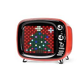Tivoo Smart Pixel-Art Bluetooth Speaker (Starry Red)