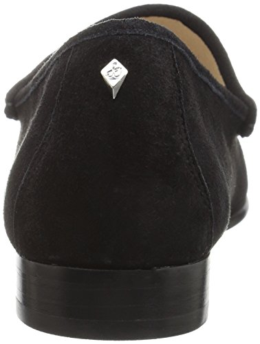 Sam Edelman Dames Talia Instappers Loafer Zwart Suède