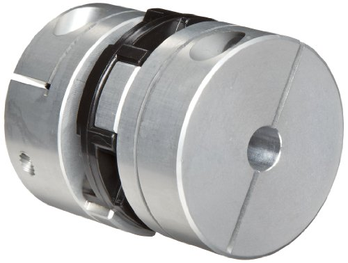 Aluminum 1.97 OD Inch 0.945 Bore A 2.35 Length 0.945 Bore B Huco 516H50.5151.Z Size 50 Oldham Coupling
