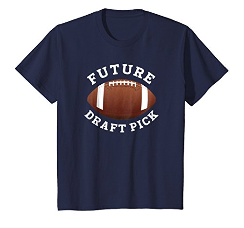 Price comparison product image Kids Trendy Future Football Draft Pick Back To School T Shirt