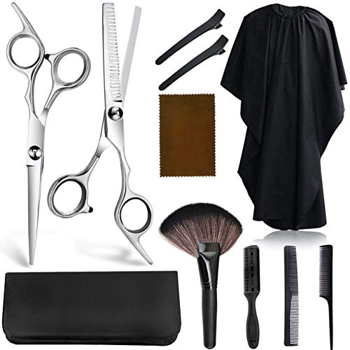 Kynup Hair Cutting Shears,Hair Cutting Scissors for Women,Professional Texturizing Scissors Set for Hairdressing…