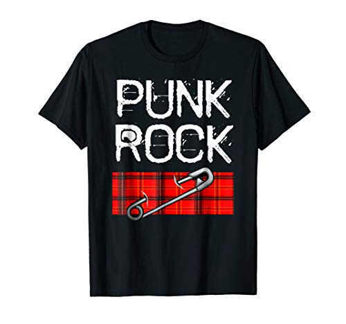 (Punk Rock Music Novelty Tshirt Easy Costume Party)