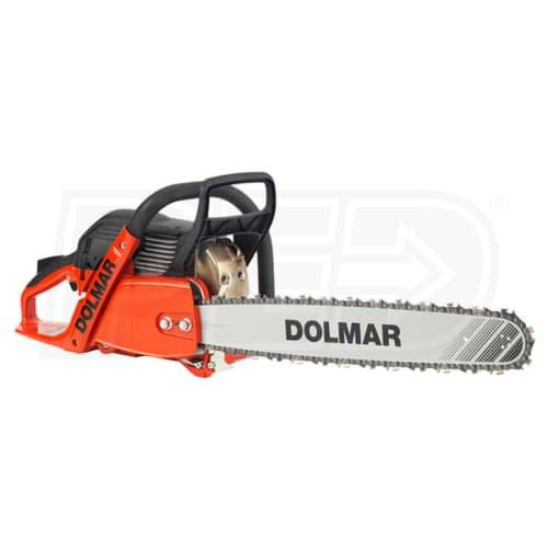 Dolmar PS-6100 61cc 20 bar with big 3 8th pitch chisel chain