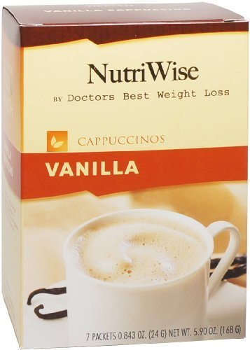 NutriWise - Vanilla Cappuccinos Protein Diet Drink (7 packets/box) by NutriWise by NutriWise