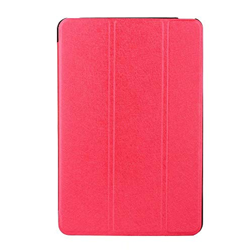 Vansee❤❤for iPad 6th Generation 2018 9.7 Slim Magnetic Leather Smart Cover Case for Apple (Hot Pink)]()