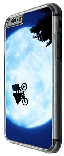 956 - cool cute fun moon bike love you to the moon and back alien movie Design For iphone 4 4S Fashion Trend CASE Back COVER Plastic&Thin Metal -Clear