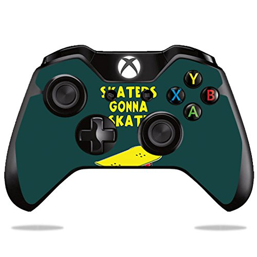 Price comparison product image Skin For Microsoft Xbox One/ One S Controller – Skaters Gonna Skate | MightySkins Protective, Durable, and Unique Vinyl Decal wrap cover | Easy To Apply, Remove, and Change Styles | Made in the USA
