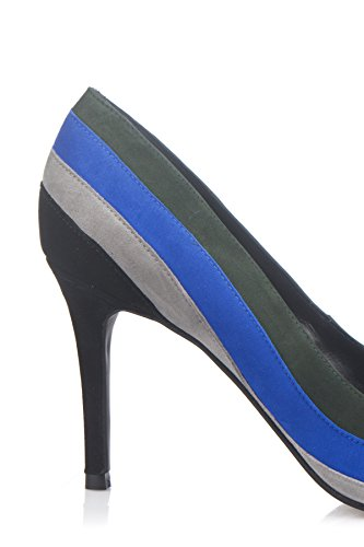 Laura Moretti - Mehrfarbige Stilettos Mehrfarbig/Schwarz