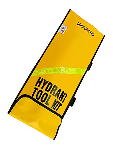 Vinyl Hydrant - R&B Fabrications Inc. 441YL Vinyl Oversized Hydrant Tool Bag, Yellow