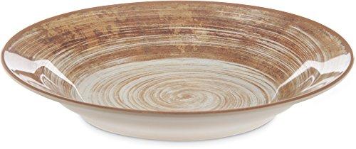 (Carlisle 5400317-E Mingle Melamine Rimmed Soup Bowl, 28.5 oz, 9