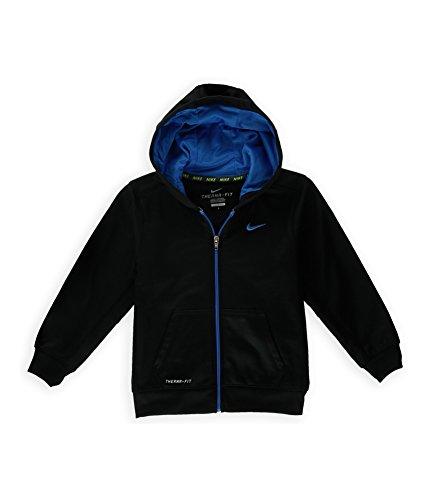Nike Therma-FIT KO Hoodie - Boys 4 - 7 ATHLETIC FULL ZIP SHIRT BLACK (4)