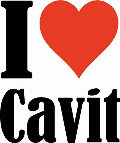 """Handyhülle iPhone 4 / 4S """"I Love Cavit"""" Hardcase Schutzhülle Handycover Smart Cover für Apple iPhone … in Weiß … Schlank und schön, das ist unser HardCase. Das Case wird mit einem Klick auf deinem Sma"""