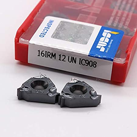 100pcs 11IR A60 Carbide Insert For Internal Threading Turning Tool Boring Bar