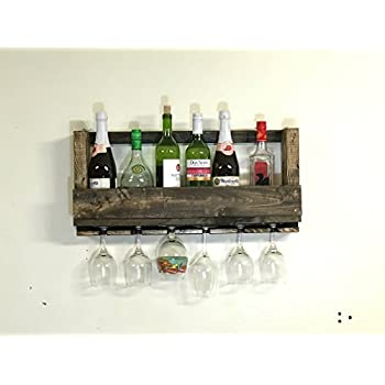 reclaimed pallet wood wine rack hand crafted from rustic reclaimed wood