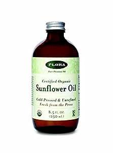 Sunflower Oil certified organic 8.5 oz