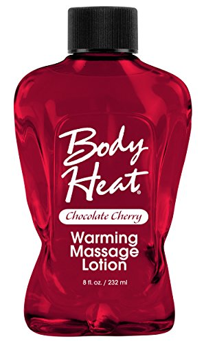 BODY HEAT WARMING MASSAGE LOTION CHOC/CHERRY a pipedream product by Pipedream