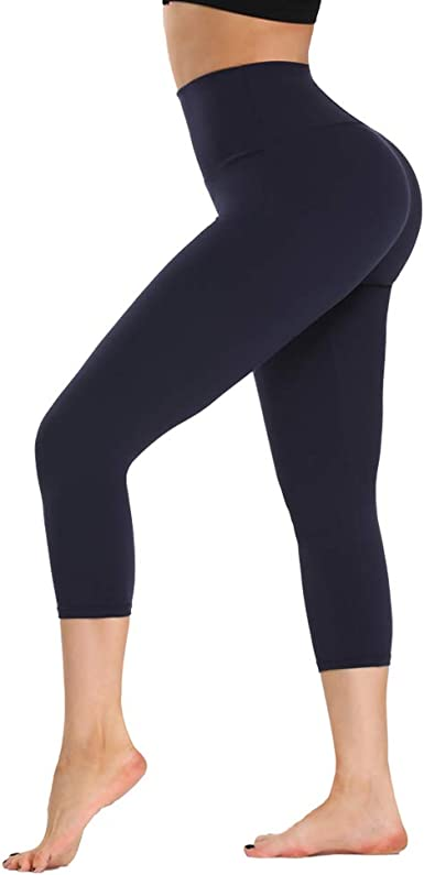 ZOOSIXX High Waisted Leggings for Women-Tummy Control and Elastic Opaque Slim Pants for Runing Yoga Workout