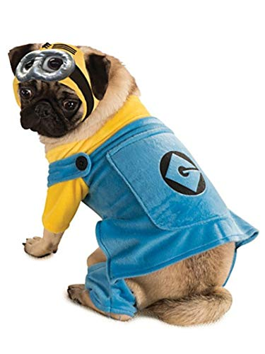 Despicable Me Minion Dog Costume Medium]()