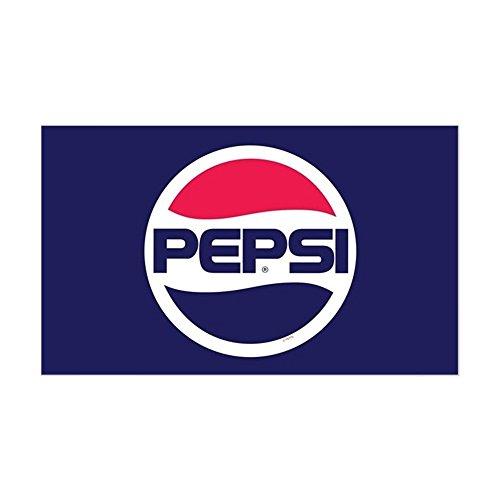 (CafePress Pepsi 90S Logo Rectangle Bumper Sticker Car Decal)