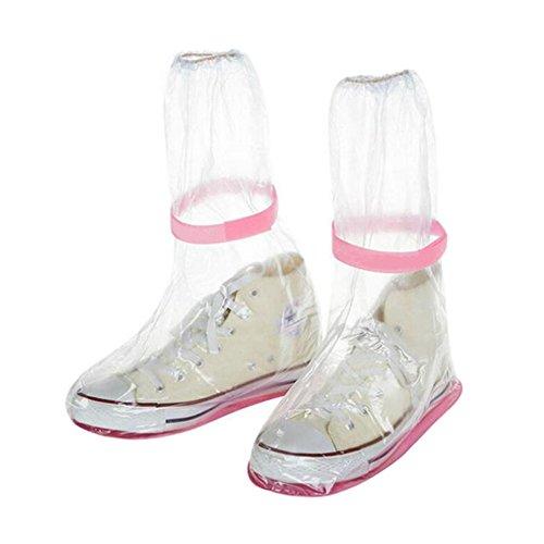 Overshoes resistant Slip Transparent Rainproof Verdicken walking Schnee Covers Schuhe Meijunter Regen Abdeckungen Reisen Boots Leicht Protective Cover a8qZxY04
