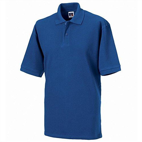 Russell Europe Herren Poloshirt Blau Helles Königsblau