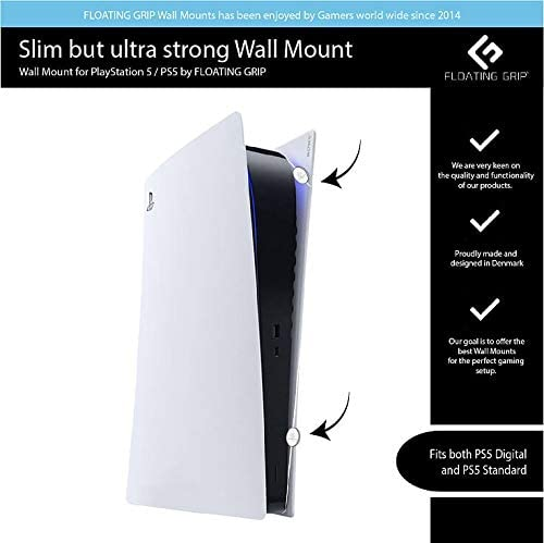 PS5 Wall Mount by Floating Grip