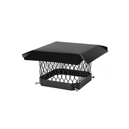 Hy-C SC99 9-inches x 9-inches Chimney Cover, Black, Galvanized Steel by HY-C COMPANY INC [並行輸入品] B01834GDKU