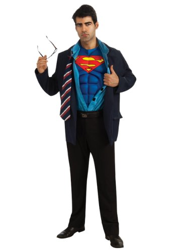 Clark Kent Superman Costume: Men's Size 42-44