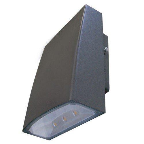 Morris 71392 LED Slim Line Combo Wallpack/Floodlight, 50W, 5000 K, 4363 lm, 120-277V, Bronze