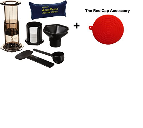 Cheap Aerobie AeroPress Coffee Maker with Tote Bag and Accessory Value Pack