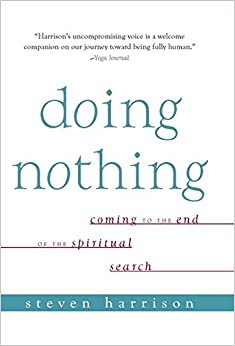 Doing Nothing Coming To The End Of The Spiritual Search 01 Edition