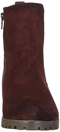Daniel Hechter HJ55353G - Botas de Cuero Mujer rojo - Rot (burgund 329)