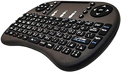 French i8 Air Mouse Wireless Keyboard with Touchpad for Android TV Box /& Smart TV /& PC Tablet /& Xbox360 /& PS3 /& HTPC//IPTV Durable Support Language