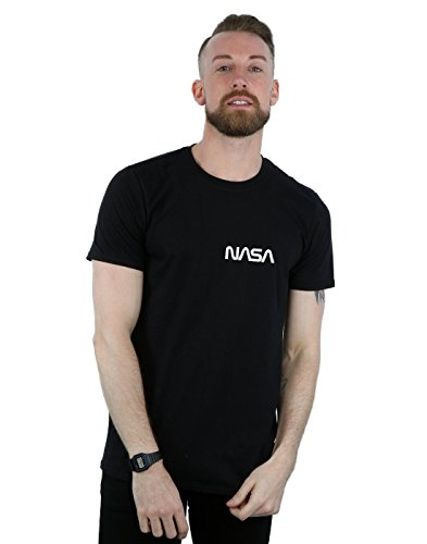 shirt Modern Homme Logo Nasa T Pocket Absolute Noir Cult qR0aP