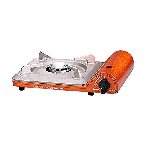 Iwatani Cassette Feu Super Tatsujin Slim cb-ss-1(Naranja) de cobre & # x3010; Japón Domestic Productos & # x3011genuina;