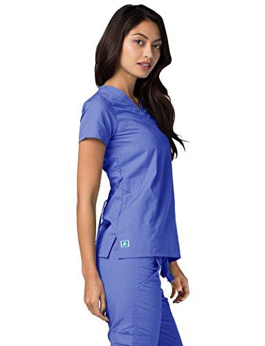 Lavoro Parte Infermiera khaki Camice Mediche Adar Beige Donna Ospedale Da Superiore Uniformi wXqw0Pnz