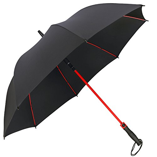 G4Free 55 Inch Golf Umbrella Large Windproof Oversize Automatic Open Stick Umbrellas Extra Lightweight Strong for Men Women