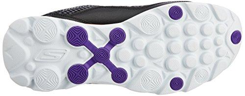 Zapatos 2 Haciendo Gorun de Sonic Skechers para mujer ' Negro - schwarz/weiß/pink (BKWP)