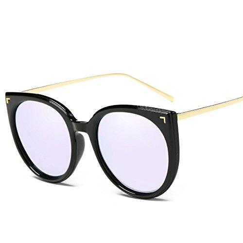 Gafas Irregular De Polarizador Sol Gafas Gafas Redondo Sol Mujeres Gafas De Marco Pareja E Unisex Sol De Solar Moda Polarizado Trend UV Medio Vintage Protección Conducción De E De Gafas Protección Sol 8wn7TXq