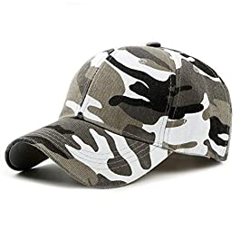 FENGFA Baseball Cap Army Military Camo Cap Trucker Hat Unisex Sports Cap for Outdoor Activities