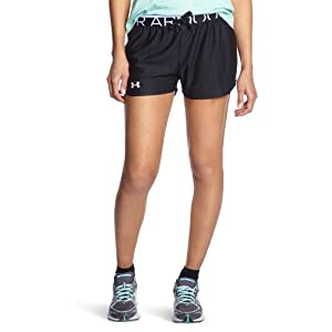 Under Armour Play Up Women's Running Shorts - SS15 - X Small - Black