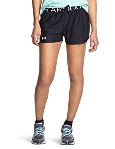 Under Armour Play Up Women's Running Shorts - SS15 - Small - Black