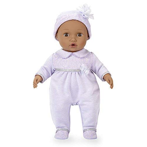 You /& Me Baby So Sweet Nursery Doll Precious African American in Lavender Toys R Us SG/_B07D1S7RJS/_US