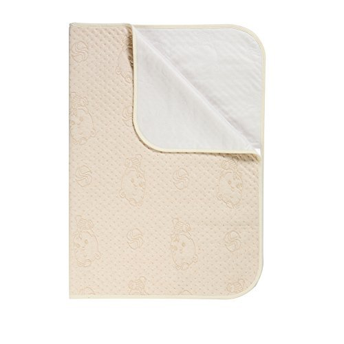 Incontinence Pads, AIEX Baby Waterproof Bed Pad Bed Wetting Pads Absorbent Pads Washable Bed Pads for Infants, Children and Pets(27in x 39in)