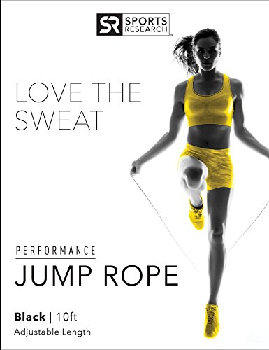 """Sweet Sweat Performance Jump Rope by Sports Research 