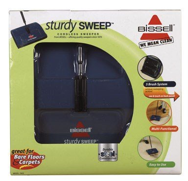 BISSELL Sturdy Sweep Sweeper, 2402