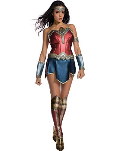 Secret Wishes Women's Wonder Woman Secret Wishes Costume With Boot Tops, As/Shown, Small